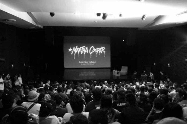 Martha Cooper en México_Conferencia_MuseoDelChopo1