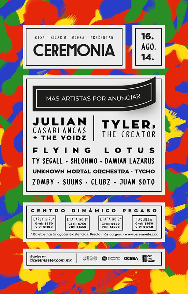 Ceremonia-Cartel