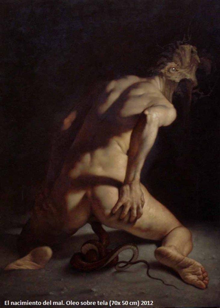 Transformación de la carne, Roberto Ferri