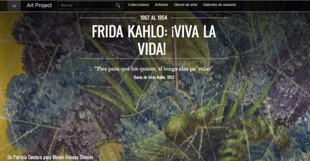 Frida Kahlo. ¡Viva la vida!
