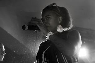 Arianna Puello. Fotografía: Luis Omar González